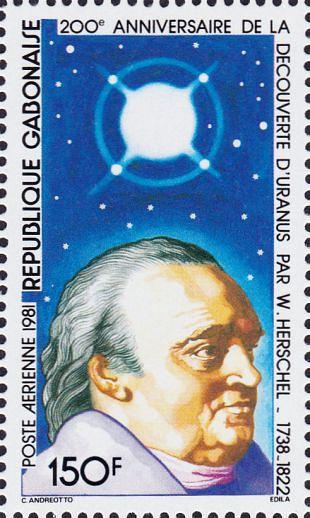 Filatelistische aandacht voor: William Herschel (1)