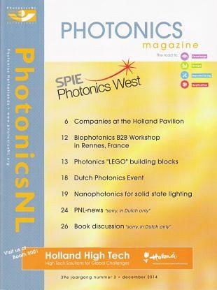 Fotonica-industrie aanwezig tijdens SPIE Photonics West
