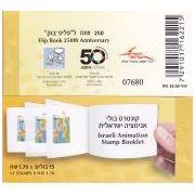 ASIFA Flipboekje postzegels Israël