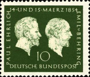 Wetenschapper Paul Ehrlich (1854-1915)