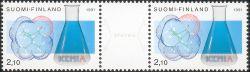 Stereoscopische postzegels uit Finland