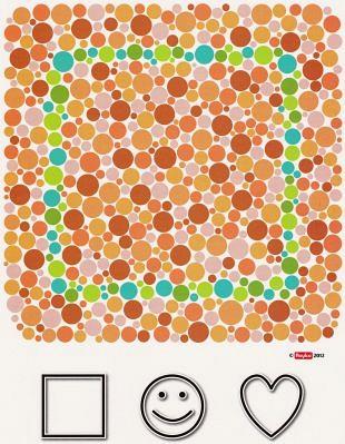 Test- en speelkaarten voor de jonge opticien