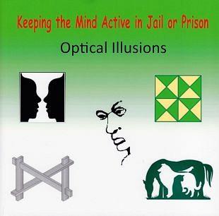 Spel van visuele illusies voor een vergeten groep personen