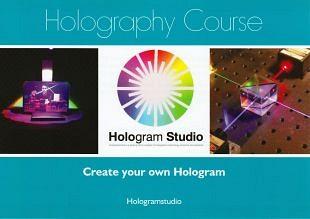 Cursus zelf hologrammen maken in Hologram Studio