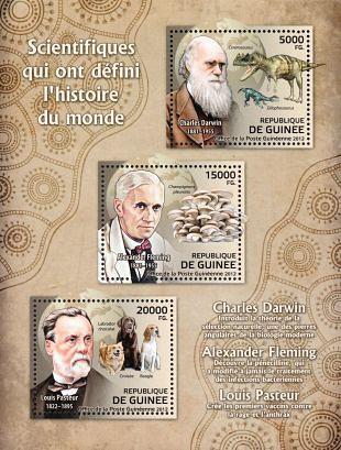 Filatelistische aandacht voor: Alexander Fleming (2)