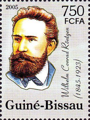Filatelistische aandacht voor: Wilhelm Conrad Röntgen (1)
