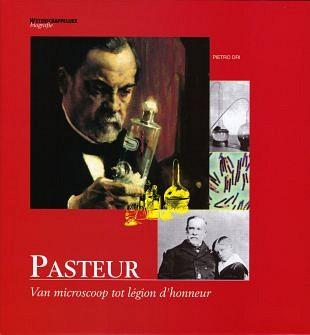 Microscopische ontdekking in werk van Louis Pasteur