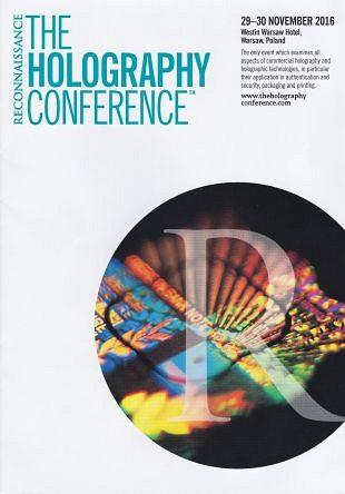 Holografie-conferentie 2016 biedt de nieuwste innovaties