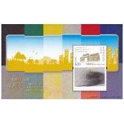 Hong Kong Spoorwegen 3D postzegelblok  afbeelding 2