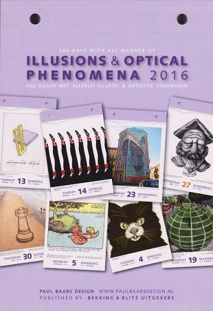 Dagelijks een unieke illusie in de scheurkalender 2016