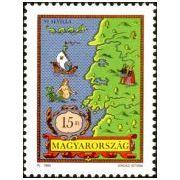 Columbus postzegels Hongarije 1992