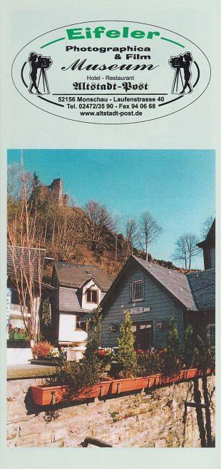 Fotografica- en filmmuseum in Monschau toont historie