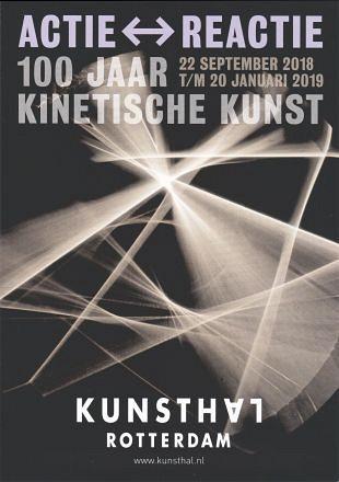 Expositie 100 jaar kinetische kunst in Kunsthal Rotterdam