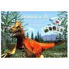 Het leven van dinosauriërs in 3dimensionale beelden