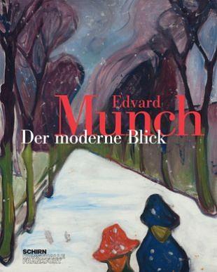 Een modern kunstbeeld van kunstenaar Edvard Munch