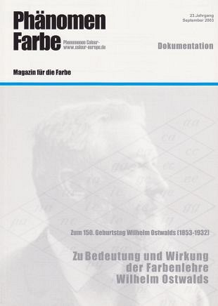 Aandacht voor kleurenleer van genie Wilhelm Ostwald