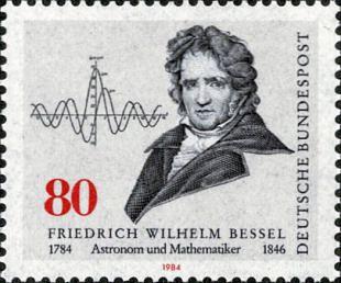 Friedrich Wilhelm Bessel (1784-1846)