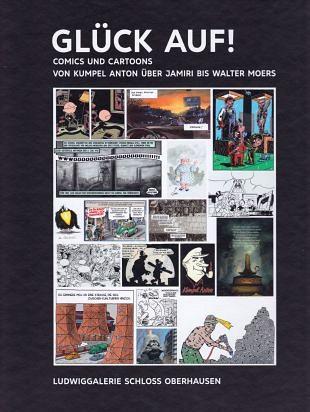 Comics en cartoons rondom vondst van het zwarte goud