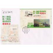 Hong Kong Autobussen 3D FDC