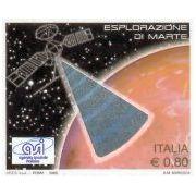 Italiaanse hologrampostzegel toont marsonderzoek
