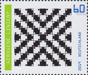 Optische illusies zorgen ook voor waardevolle postzegels
