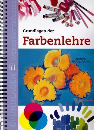 Grondbeginselen van kleur in een kleurrijk werkboek