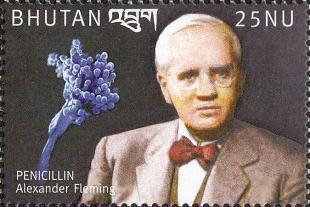 Filatelistische aandacht voor: Alexander Fleming (3)
