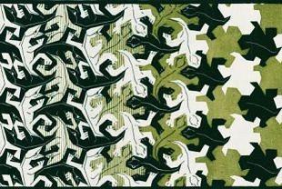 Metamorphose van Escher toegevoegd aan de collectie