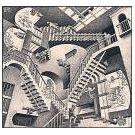 M.C. Escher bracht kunst, illusies en wiskunde bijeen - 2