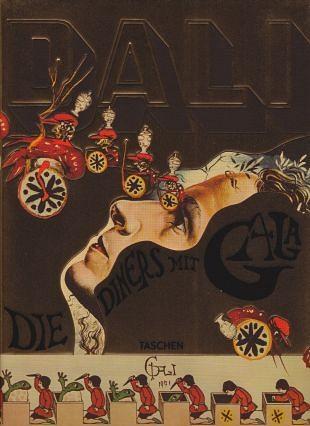 Salvador Dalí illustreert zijn kookboek met 136 recepten