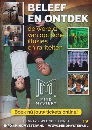 In Mind Mystery themapark spelen bezoekers met illusies