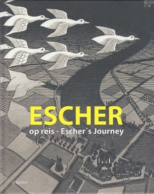 M.C. Escher bracht kunst, illusies en wiskunde bijeen