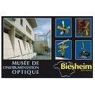 Optische instrumenten in leuk Frans optica-museum
