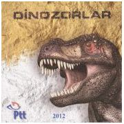 Turkse dinosauruspostzegel in 3D  afbeelding 2