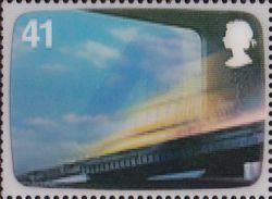 Thunderbirds op Engelse 3D postzegels