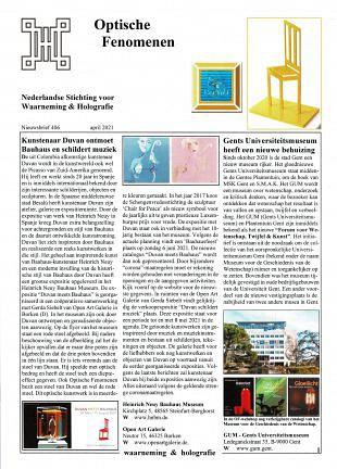 Kunstenaar Duvan ontmoet Bauhaus en schildert muziek (1)