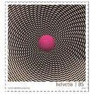 Postzegels spelen met onze ogen en hersenen