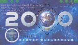 Dennis Gabor op hologrampostzegel Hongarije