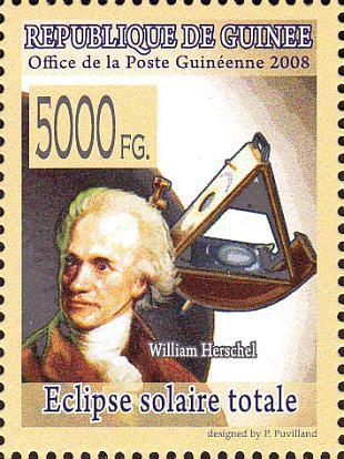 Filatelistische aandacht voor: William Herschel (2)