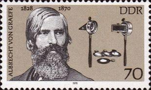 Albrecht von Graefe bracht oogheelkunde als eigen vak