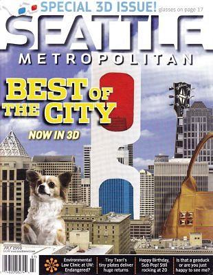 De Seattle Metropolitan compleet in driedimensies