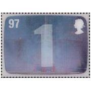 Thunderbirds op Engelse 3D postzegels  afbeelding 4