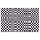 De fascinaties van het zien door spel met visuele illusies - 3