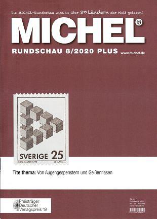 Visueel bedrog op postzegels in Michel-Rundschau 8/2020 (1)