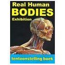 Inhoudelijke mens getoond in een anatomische expositie