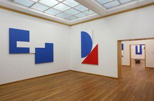 Geometrisch abstract werk van Bob Bonies in Den Haag (1)
