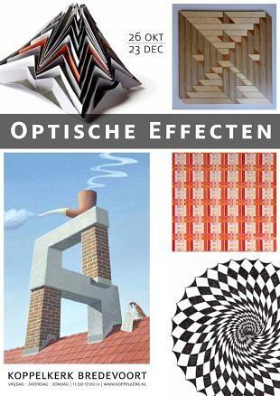 Groepstentoonstelling toont optische effecten in de kunst
