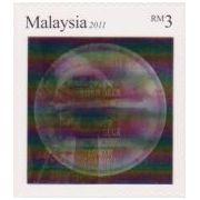 Tunnelboringen in 3D op postzegels Maleisië  afbeelding 3