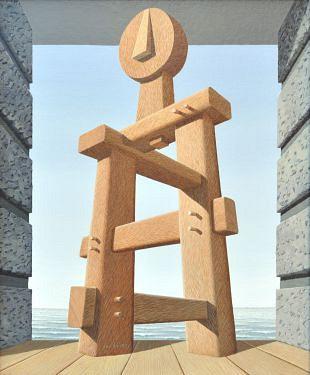 Japanse invloed op een kunstwerk van Jos de Mey