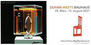 Kunstenaar Duvan ontmoet Bauhaus en schildert muziek (2)